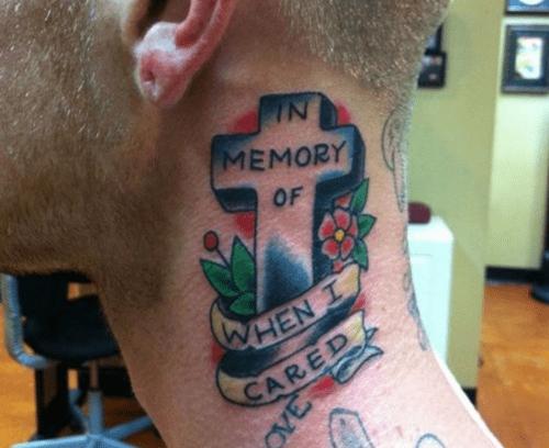 memories tattoos funny