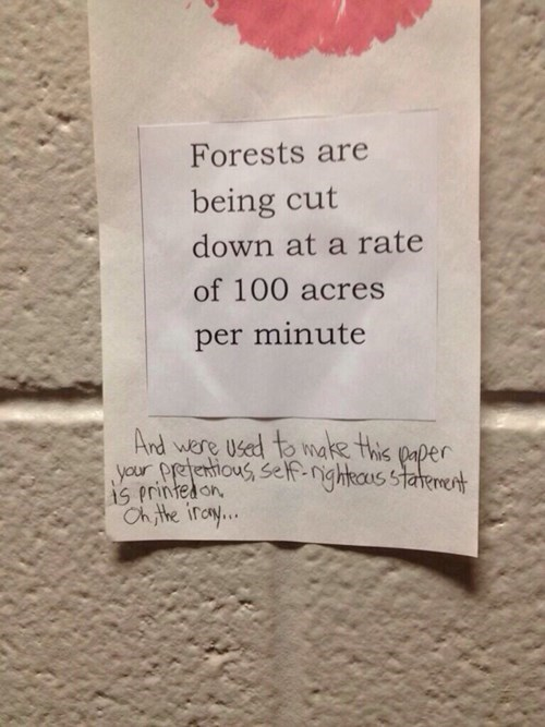 deforestation,snarky
