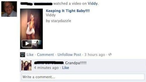 gross,Awkward,Grandpa,failbook