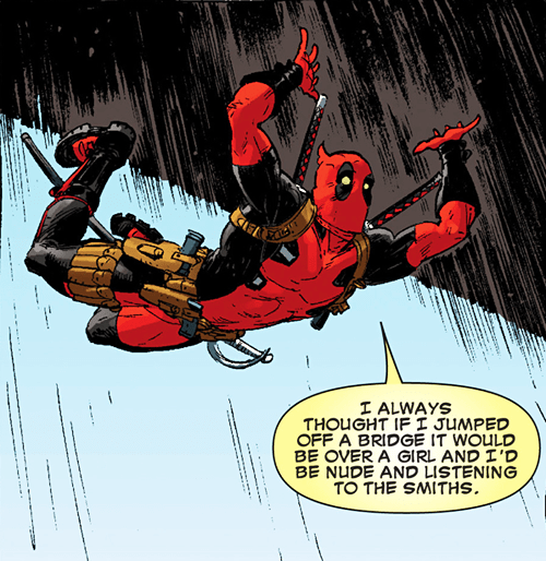 angst deadpool off the page the smiths - 7887508224