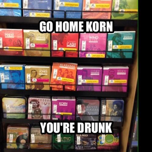 easy listening Korn greatest hits - 7887534336
