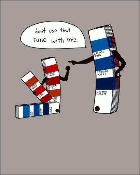 puns,tone,colours