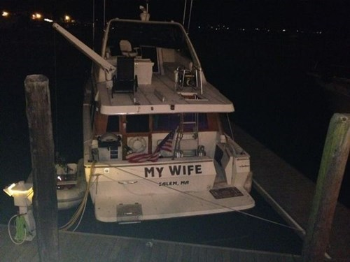 marriage,wife,boat,funny