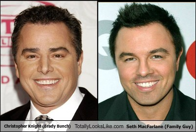 Christopher Knight,Seth MacFarlane,totally looks like