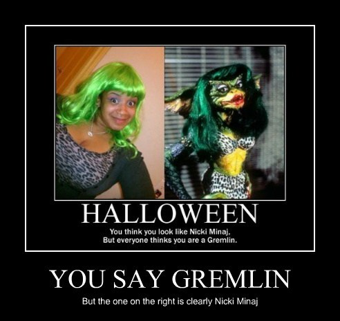 gremlins look alike niki minaj funny - 7887818240