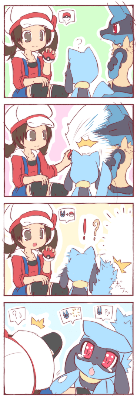 Pokémon lucario web comics riolu - 7888172032