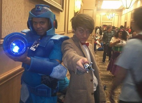 cosplay megaman doctor who - 7888402176
