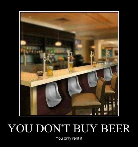 beer pee rent recycle - 7888569600