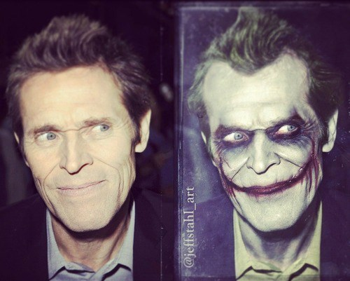joker,perfect casting,Willem Dafoe