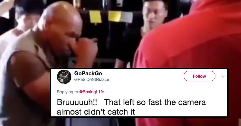 scary twitter athlete boxing reaction mike tyson - 7888645