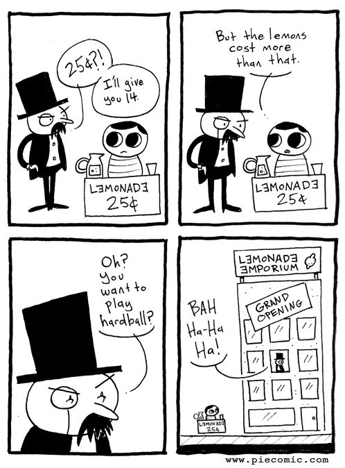 lemonade capitalism business web comics - 7888770304