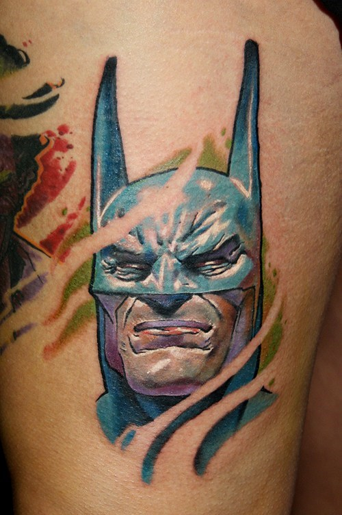 batman funny tattoos - 7888777472