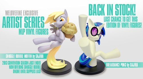 derpy hooves figurines vinyl scratch - 7888825856