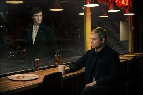 benedict cumberbatch,Martin Freeman,Sherlock