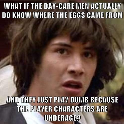 conspiracy keanu Memes pokemon day care - 7888949760