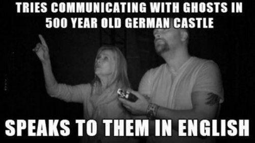german english ghosts language - 7889016320
