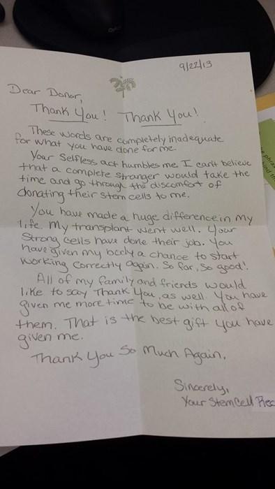 random act of kindness medicine letter restoring faith in humanity week - 7889043968