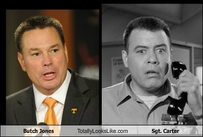 totally looks like,butch jones,sgt-carter
