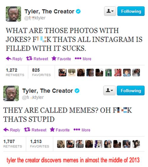 twitter Memes Tyler The Creator - 7889139712