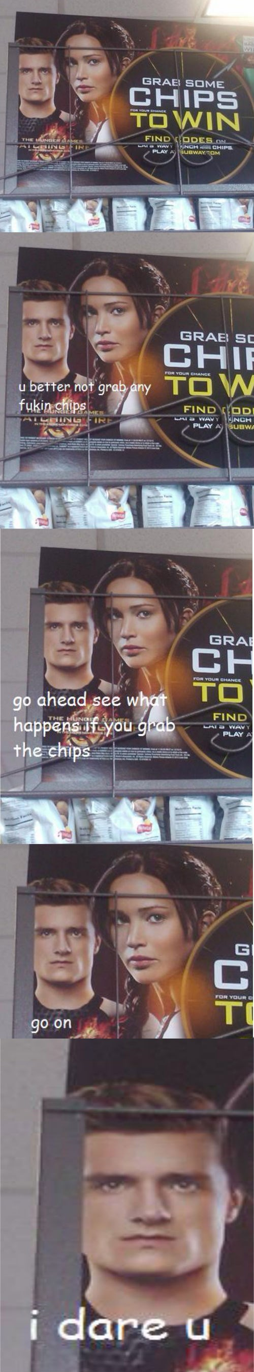 chips movies hunger games peeta - 7889163264