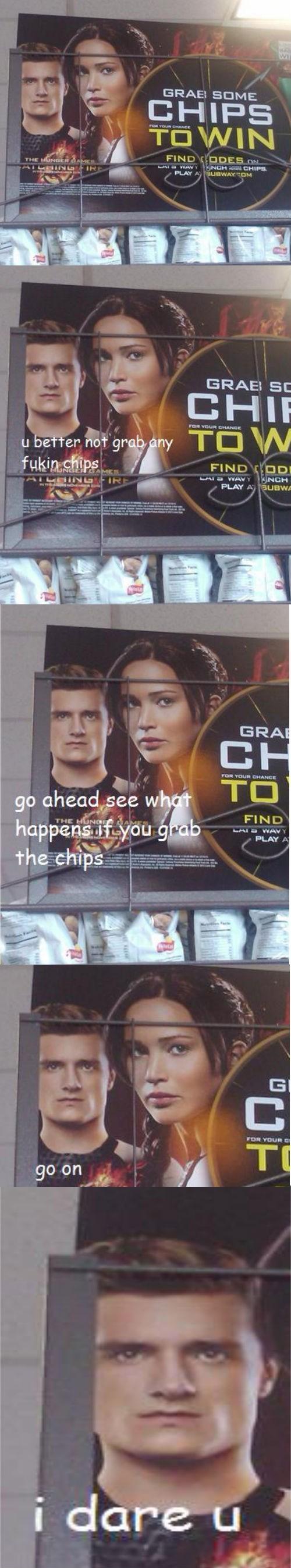 chips movies hunger games peeta - 7889163264