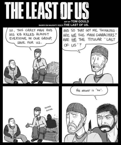 the last of us,web comics