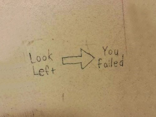 graffiti,look left