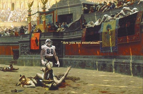 sports richie incognito idiots are you not entertained - 7889443328