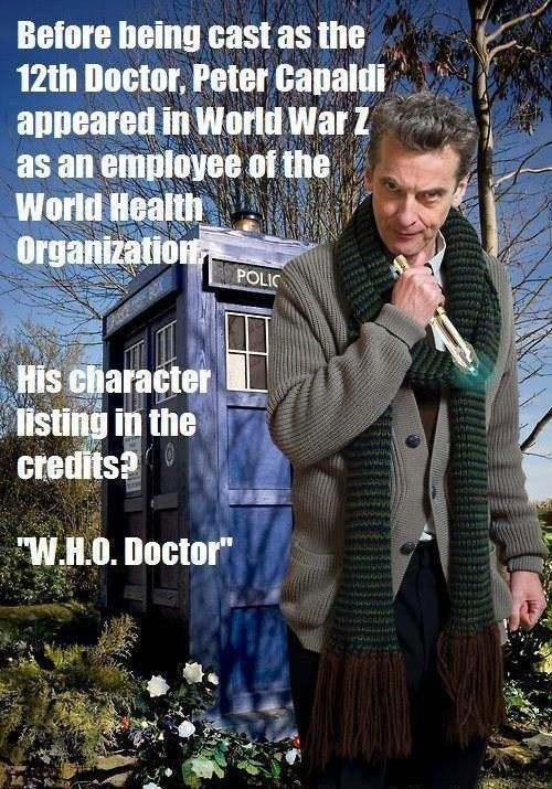 12th Doctor doctor who Peter Capaldi - 7889716992