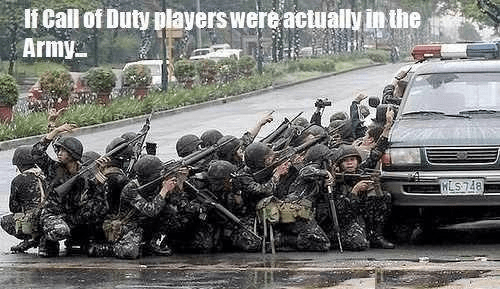 call of duty IRL military - 7889890560