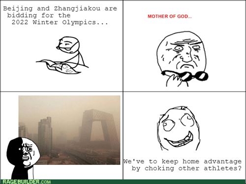 beijing mother of god olympics oh god why pollution - 7889960192