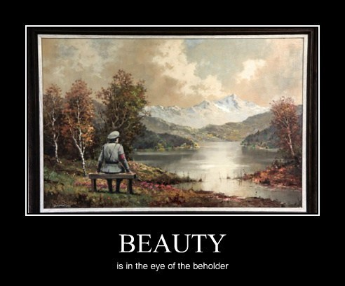 beauty funny painting trolling