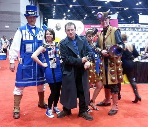 cosplay daleks doctor who tardis - 7890302464