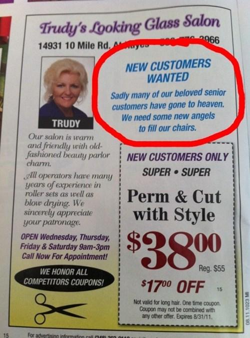 customers hair salon haircuts - 7890427904