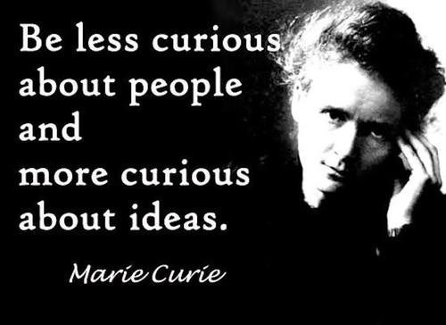 quote ideas marie curie
