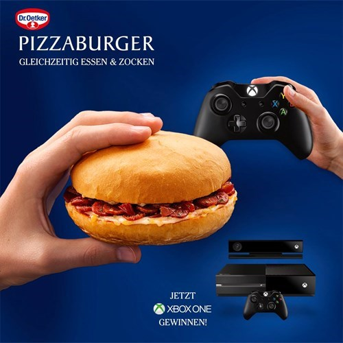 Germany sponsors xbox one pizzaburger