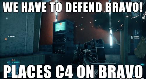 Battlefield 4 video game logic - 7890582272
