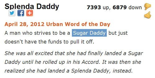 funny,sugar daddy,urban dictionary,dating