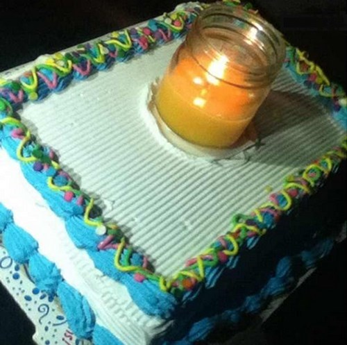 candles birthday cake there I fixed it g rated - 7890630656