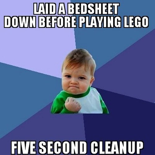 cleanup,kids,Memes,lego,success kid,parenting,g rated