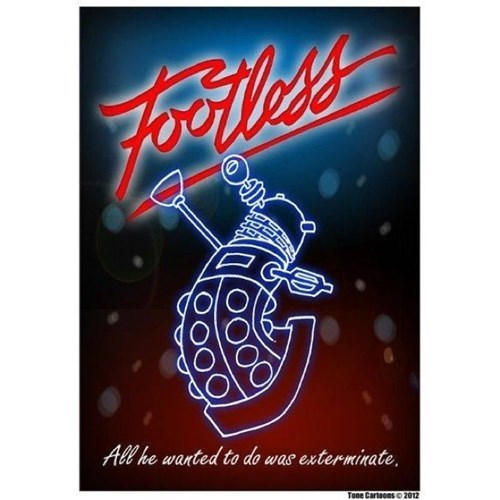 daleks,doctor who,Fan Art,footloose