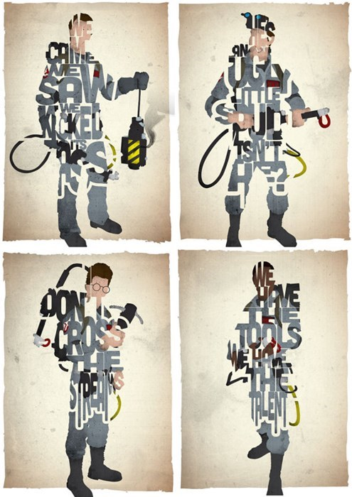 prints,Ghostbusters,for sale