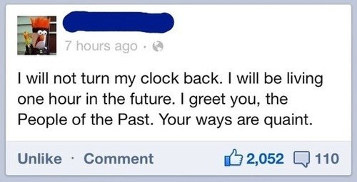 daylight savings,the past,failbook,g rated