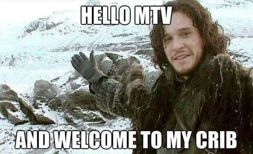 Game of Thrones Jon Snow mtv cribs - 7890839296