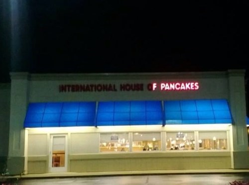 food breakfast ihop sign pancakes