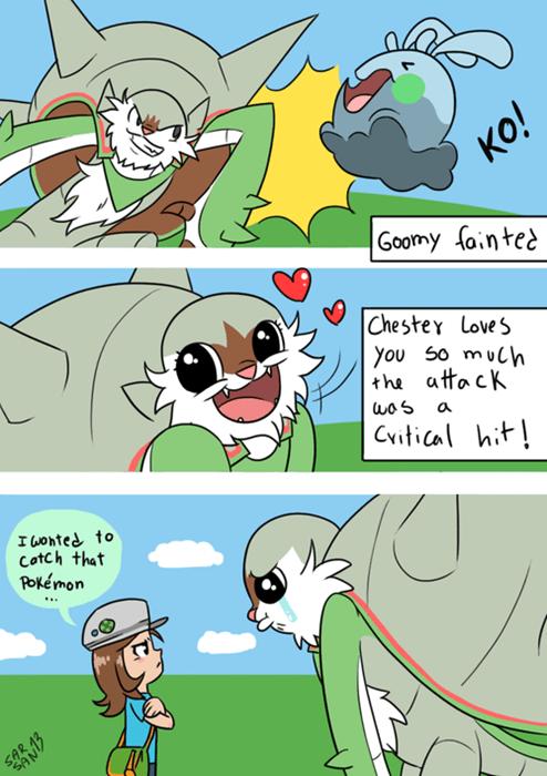 Pokémon chesnaught goomy - 7890861824