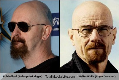 walter white,rob halford,totally looks like,judas priest,funny