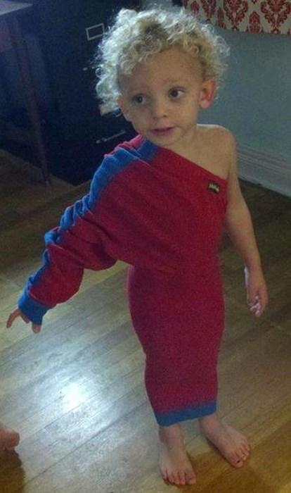 fashion asymmetrical parenting - 7890886144