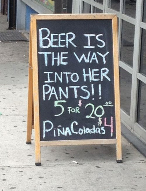 beer,sexy times,funny,sign