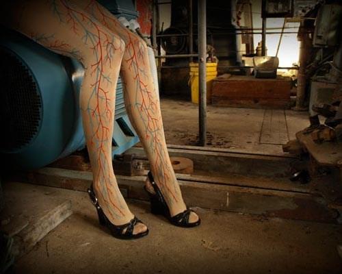 fashion veins tights - 7890973952
